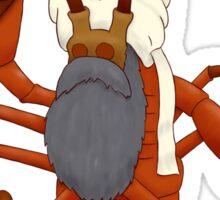 Iraq Lobster Sticker