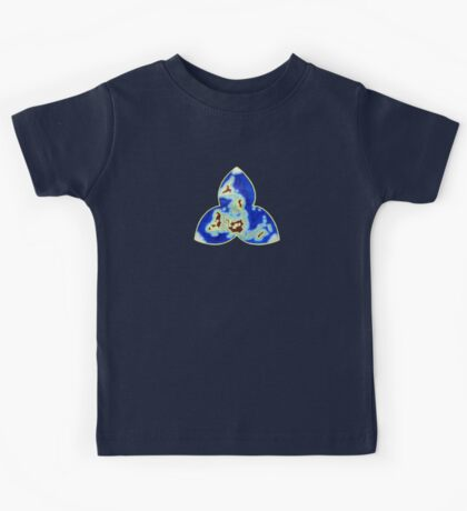 Tri-point World Map Kids Tee