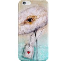 Flower in the snow iPhone Case/Skin