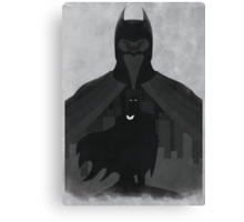 JLA: Batman Minimalist Comics Justice League of America Canvas Print