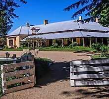 Lanyon Homestead (1859) by TonyCrehan