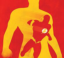 JLA: Flash Minimalist Comics Justice League of America by markitzero