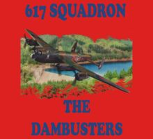 The Dambusters 617 Squadron Tee Shirt 1 Kids Clothes