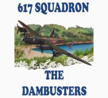 The Dambusters 617 Squadron Tee Shirt 1 by Colin  Williams Photography