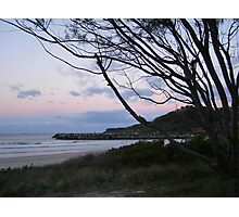 Razorback Lookout at dusk! Evans Head. Nth Coast. N.S.W. Photographic Print