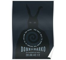 Donnie Darko The Only Way to Unwind the Future is to Follow the Path Movie Poster Poster