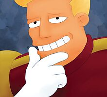 Zapp Brannigan by donnatello24