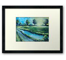 Kalinga Creek Framed Print