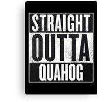 Straight Outta Quahog - The Family Guy Canvas Print