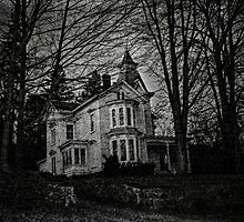Haunted House in Waterloo Village, Byram Township, NJ by Jane Neill-Hancock