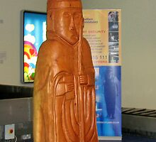 The Giant Chessman - Stornoway Airport by BlueMoonRose