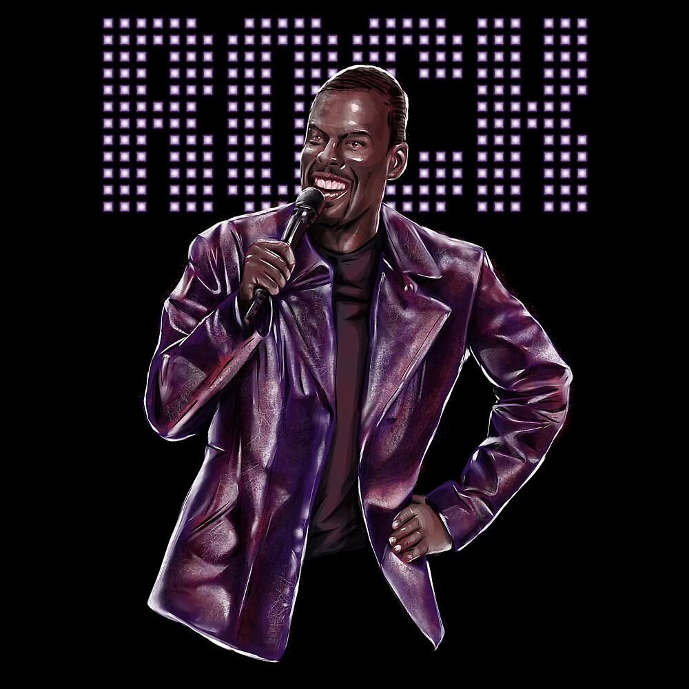 Chris Rock - Comic Timing by uberdoodles