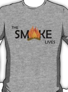 The Smoke Lives-Black T-Shirt