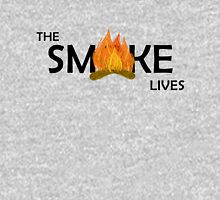 The Smoke Lives-Black Unisex T-Shirt