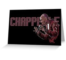 Dave Chappelle - Comic Timing Greeting Card