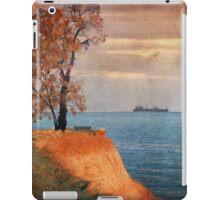Autumn by the sea iPad Case/Skin