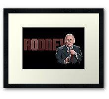Rodney Dangerfield - Comic Timing Framed Print