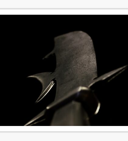 Black sword Sticker
