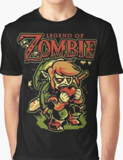 Legend of Zelda Zombie Graphic T-Shirt