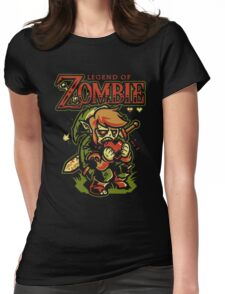 Legend of Zelda Zombie Womens Fitted T-Shirt