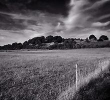 Dramatic Old Sarum by Tobias King