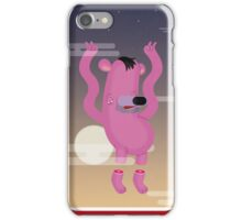 Falling from the sky iPhone Case/Skin