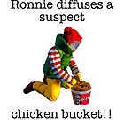 Ronnie diffuses a suspect chicken basket by Tim Constable