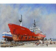 Dry Dock: Punta Arenas. Photographic Print