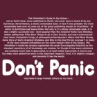 Don't Panic by zachsbanks