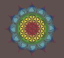 Flower of life - Lotus, healing & energizing Kids Clothes