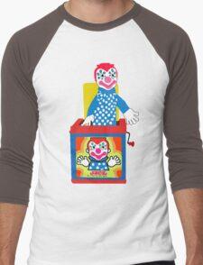 Jack in the Music Box- Nostalgia Toys Men's Baseball ¾ T-Shirt