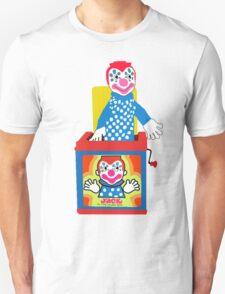 Jack in the Music Box- Nostalgia Toys Unisex T-Shirt