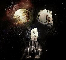 Cave Skull by Ali Gulec