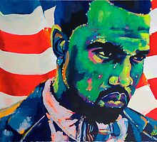 Yeezus Green Like Money by MissAnnaHall