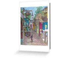 Old Saint Augustine Greeting Card