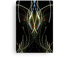 neon abstract one Canvas Print