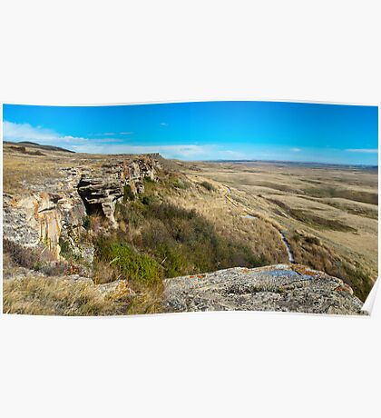 Head Smashed In Buffalo Jump Poster