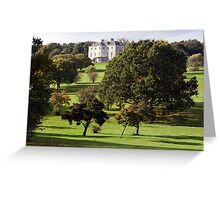 The Mansion  from the Golf Course.  Greeting Card