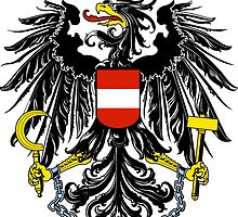 Austria Coat of Arms  by abbeyz71