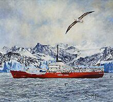 Painted ship upon a painted ocean. by David McEwen