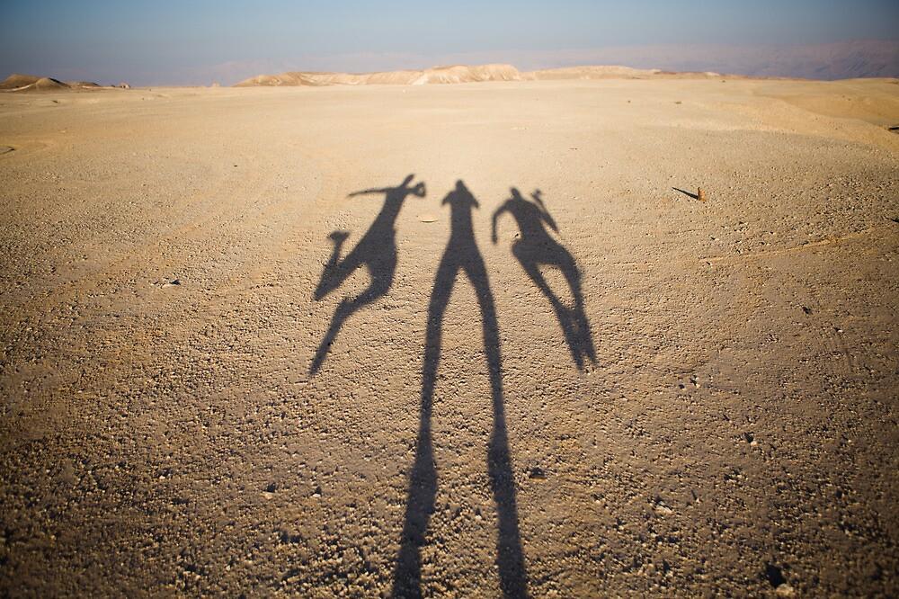 flying shadows by Victor Bezrukov