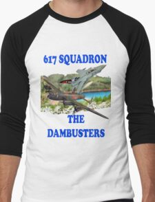 The Dambusters 617 Squadron Tee Shirt 2 Men's Baseball ¾ T-Shirt