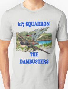 The Dambusters 617 Squadron Tee Shirt 2 T-Shirt
