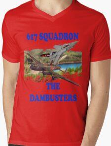 The Dambusters 617 Squadron Tee Shirt 2 Mens V-Neck T-Shirt