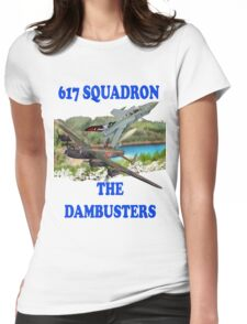 The Dambusters 617 Squadron Tee Shirt 2 Womens Fitted T-Shirt
