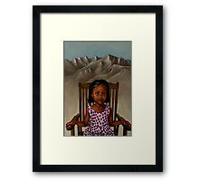 Girl from the Mountain Kingdom Framed Print