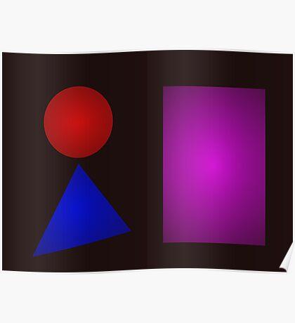 Minimalism Bold Darkness Poster