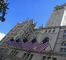 Old Post Office Or Trump Tower by Cora Wandel