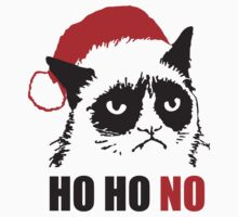 Anti Christmas - Grumpy Cat : HO HO NO! by nektarinchen