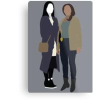 Joan and Abbie - Elementary/Sleepy Hollow Metal Print